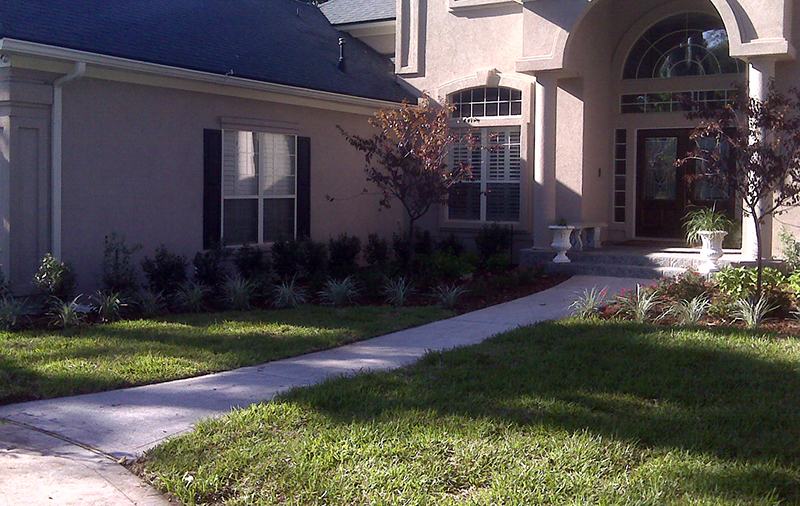 Jacksonville residental landscaping services for Landscaping rocks jacksonville